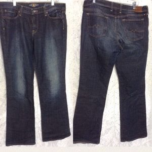 ➕ 16 LUCKY BRAND Sweet N Low Bootcut Dark Jeans